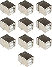 10 Conectores de Enchufe Micro USB 2.0 Tipo B Hembra de 4 Pines de 90 Grados PCB Dip