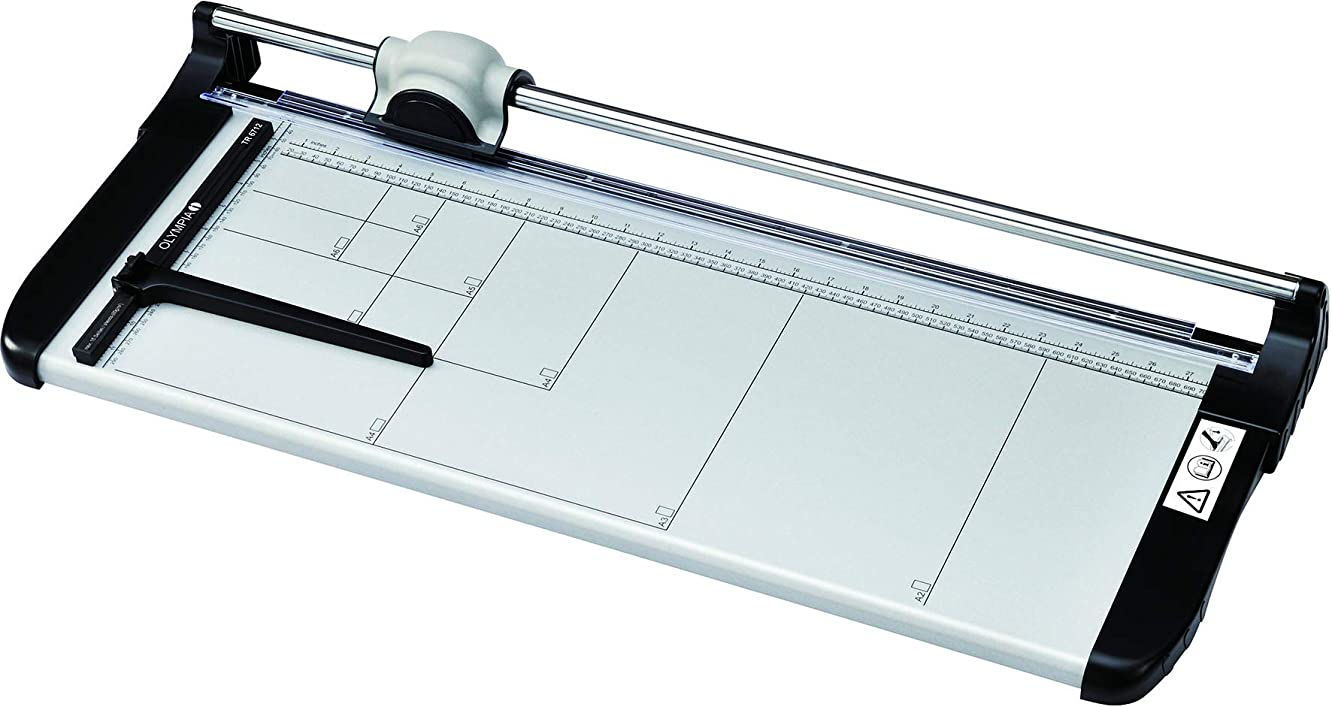 Olympia Rotary Cutter TR Red Maximum Number of Sheets, 12?Sheets