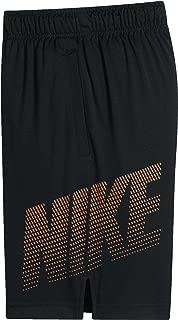 Nike Boys 8 Dry Graphic Shorts (Black, M)