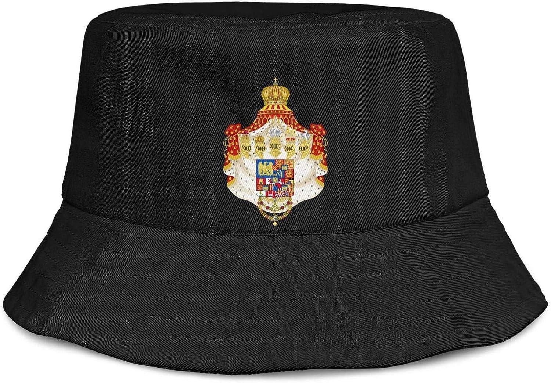 Unisex Bucket Hat French-Symbol-National-Emblem-Coat-arms- Sun Cap