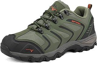 NORTIV 8 Men's Low Top Waterproof Hiking Boots Outdoor Lightweight Shoes Backpacking Trekking Trails