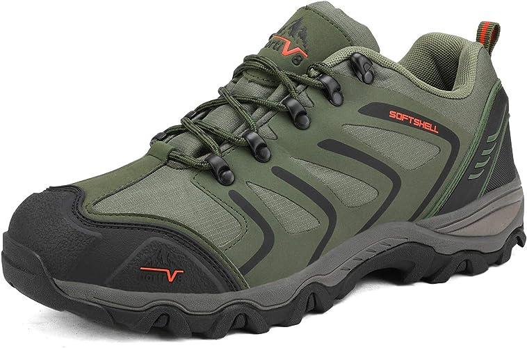 NORTIV 8 Men's Low Top Waterproof Hiking Shoes