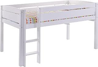 Canwood Whistler Junior Bed-White Loft, Single