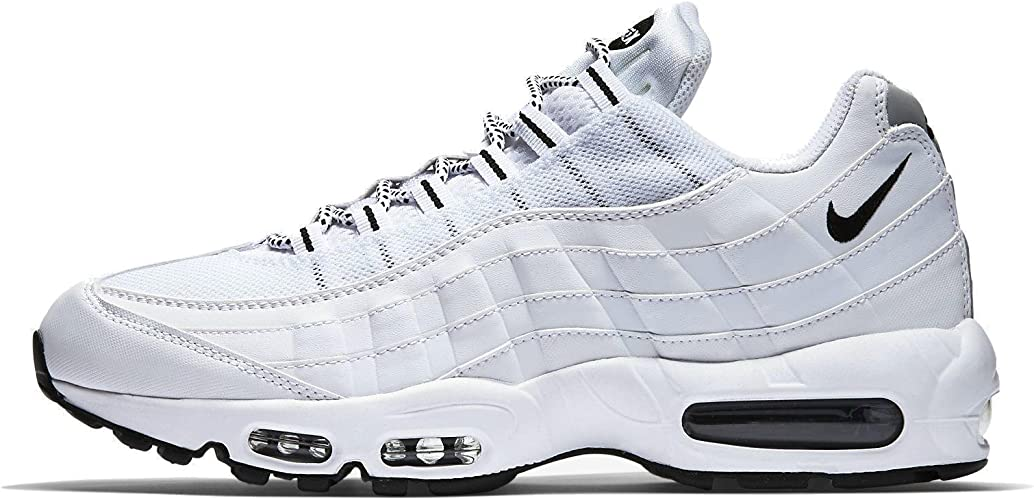 Nike Air Max 95, Running Entrainement Homme, Bianco (White/Black ...