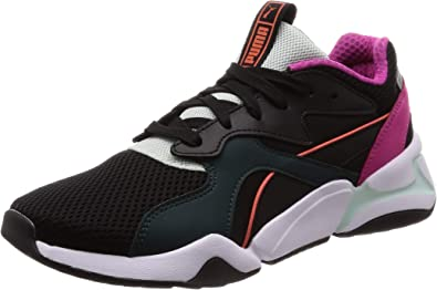 PUMA Nova Mesh Womens Black Sneakers-UK 4 / EU 37