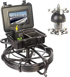 HBHYQ Endoscopio Giratorio Giratorio de 7 Pulgadas de 360 Grados, cámara de tubería, Detector de inspección Interno de t...