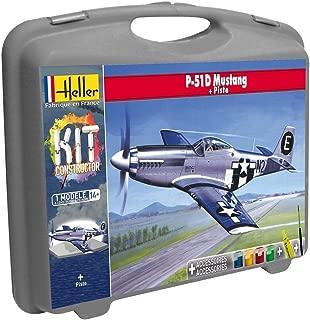 Heller – 60268 – Maletín P-51D Mustang (+ Pista) PM -