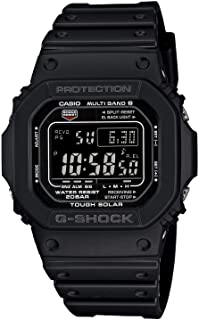 Casio Men's GW-M5610-1BJF G-Shock Solar Digital Multi Band 6 Black Watch