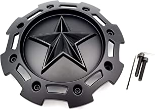 KMC XD Series Rockstar 2 SC-205 S1403-09 Black on Black 5 and 6 Lug Center Cap