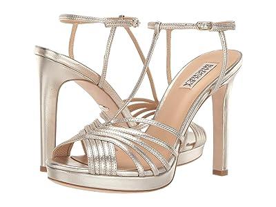 Badgley Mischka Angelica (Platino Metallic Nappa) High Heels