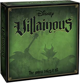 Wonderforge 26295 Ravensburger Disney Game-Which Villain are You,