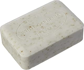 Pre de Provence French Milled Soap, 250g White Gardenia, 8.82 ounces (Pack of 2)