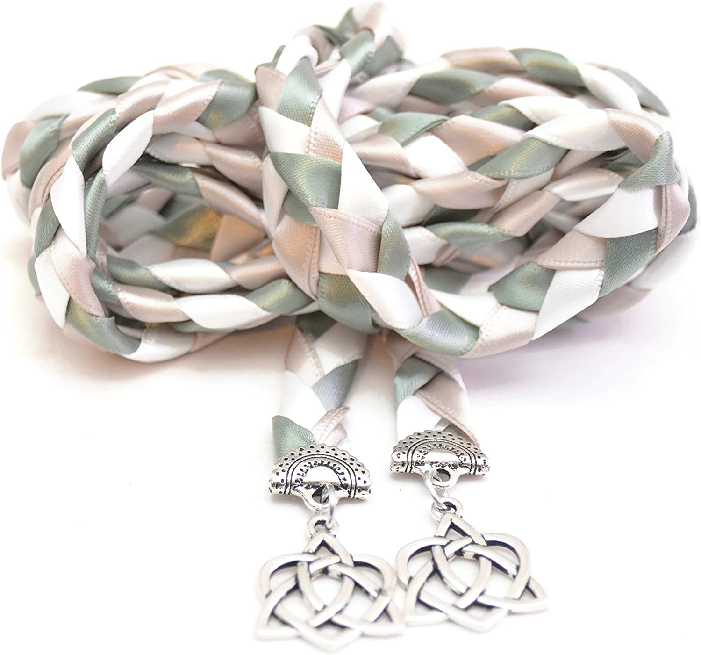 Divinity Braid Woodland Sage Celtic Wedding Heart Handfasti Knot Seattle Max 64% OFF Mall