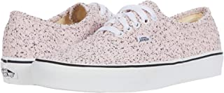 [VANS(バンズ)] メンズスニーカー・靴 Authentic (Boucle) Pink Speckle/True White Men's 5, Women's 6.5 (23cm(レディース23.5cm)) Medium [並行輸入品]