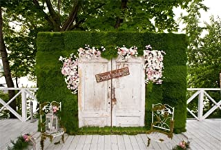 CSFOTO 7x5ft Secret Garden Backdrop Wedding Photography Background Bridal Shower Garden Tea Party Baby Shower Girls Birthday Decoration Flowers Photo Booth Studio Props Polyester Wallpaper
