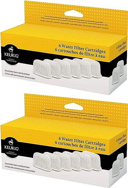 Keurig Six Water Filter Cartridges 12 Filters