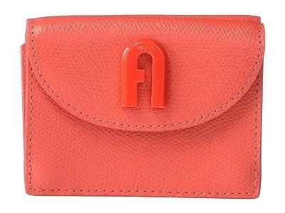 Furla 1927 Small Trifold (Fuoco) Handbags