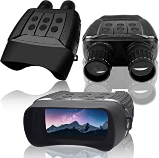 Vmotal Night Vision Goggles 850NM Infrared Illuminator Digital Binoculars Military Tactical HD Photo & 960P Video with 2.3...