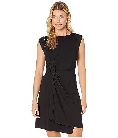 Tommy Bahama Paradisa Side Twist Sleeveless Dress (Black) Women