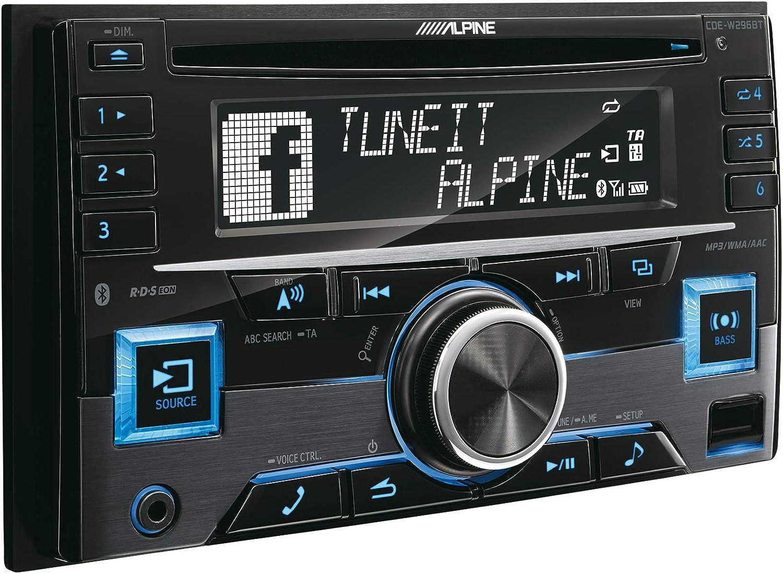 Radio CD 2DIN con Bluetooth Alpine CDE-W296BT