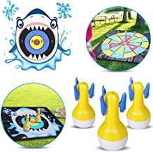 WEY&FLY Inflatable Darts Game, Indoor or Outdoor Games for Yard Games and Fun Family Games for Kids and Adults, Target Toy...