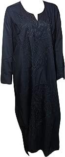 bonballoon Cotton Embroidered Kaftan Hajj Haji Umrah Ihram Jilbab Galabeya Abaya Islamic (439)