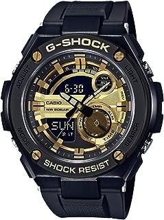 Casio G-Shock G-Steel Black And Gold Gst210B-1A9 Watch