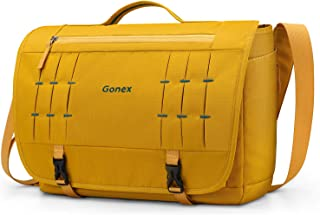 Gonex Messenger Bag Satchel 15 Inch Laptop Bags Handbag for Men Women for School College Work