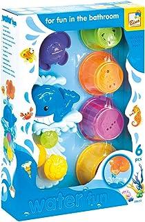 Bino & Mertens 88655 – vattenkvarn av plast, 6 delar, för badkaret, poolen eller barnbassängen i badet. Storlek ca 26 x 7,...