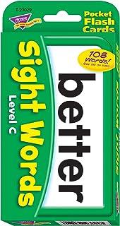 Sight Words Level C Pocket Flash Cards