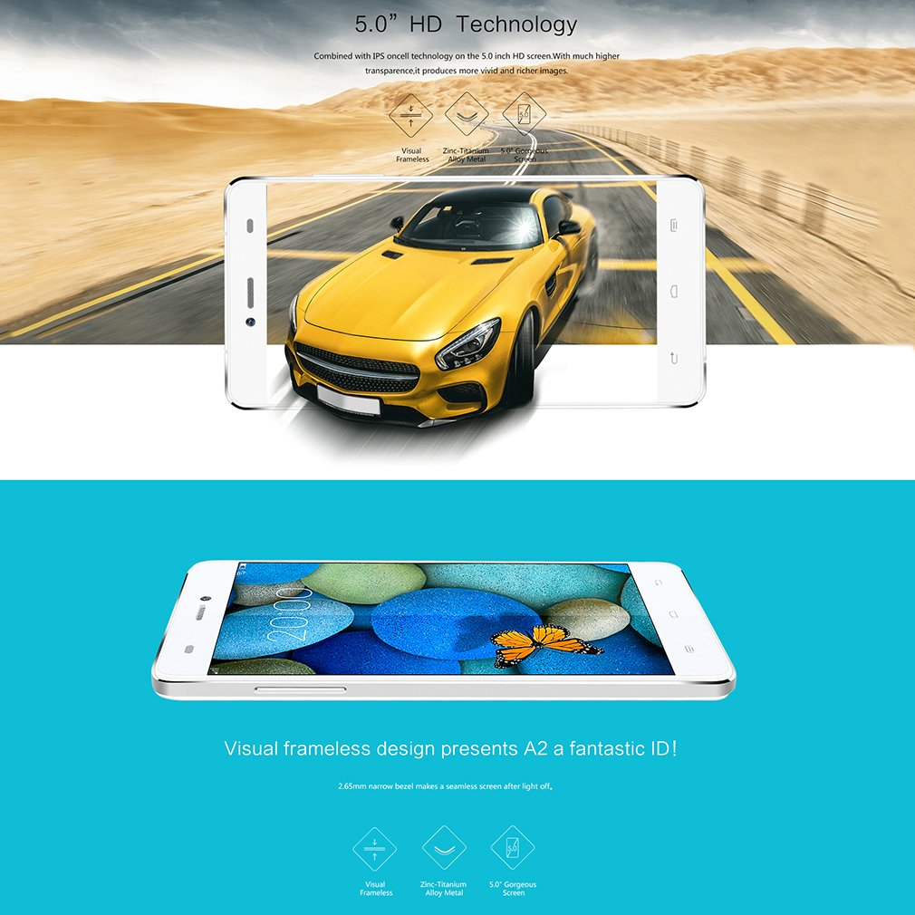 Koobee - Smartphone 5 pulgadas HD Android: Amazon.es: Electrónica