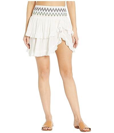 SOLUNA SWIM Heat Wave Ruffle Skirt Cover-Up (Day) Women