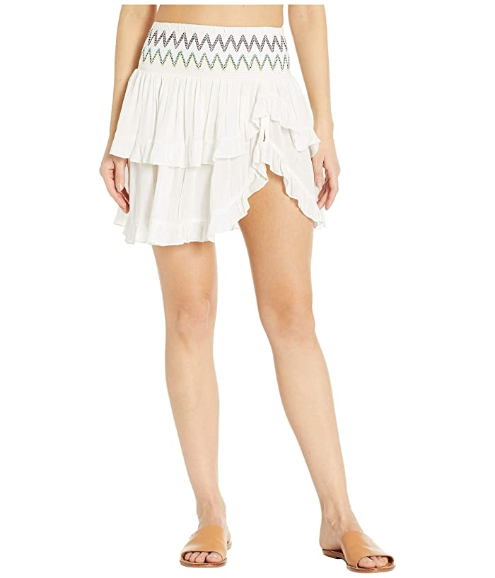 SOLUNA SWIM Heat Wave Ruffle Skirt Cover-Up (Day) Women