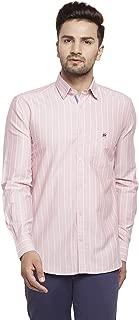 Crimsoune Club Pink Strped Men's Shirt