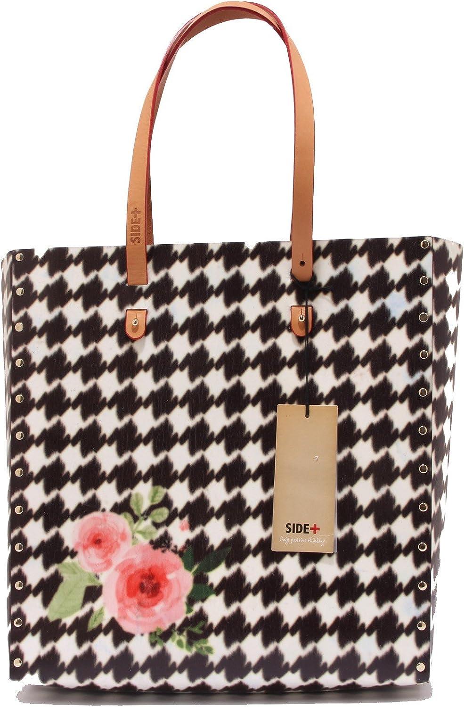 SIDE+ 0593T borsa damen TOTEBAG RosaS ecofriendly hand bag woman B073H9K5P6