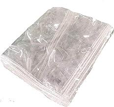 Schaduw en regendicht pooltafelhoes Transparant Dekzeildoek, Dikte 0.3mm 370GSM Heavy Duty Clear Tarp Sheet, Voor planten ...