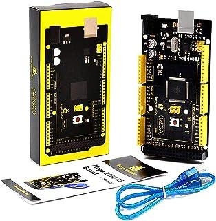 KEYESTUDIO MEGA2560 R3 Board ATmega2560 ATMEGA16U2 w/USB Cable Compatible with Arduino IDE