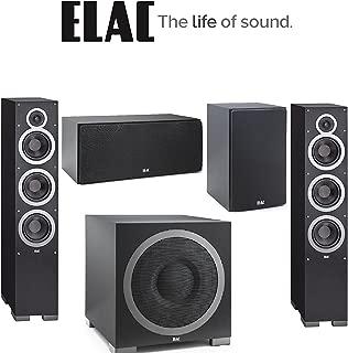 ELAC - Debut F6 Tower Speaker (Each) + ELAC C5 Debut Series 5.25