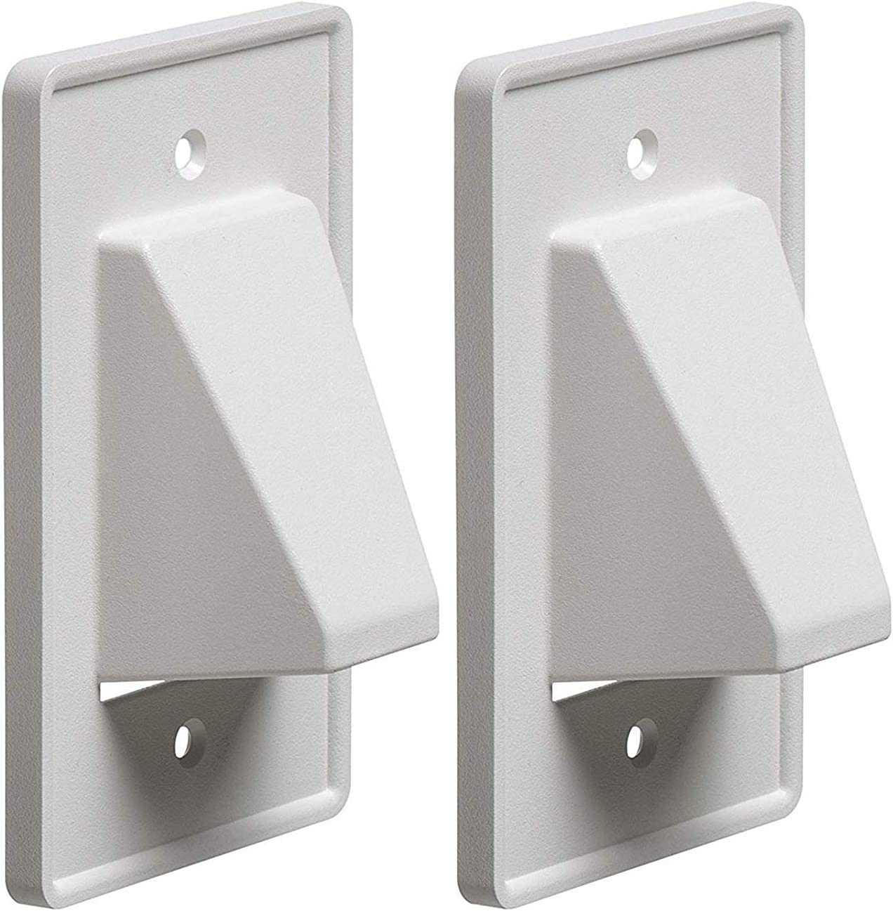 iMBAPrice - CE1-2 Recessed Ranking TOP20 Low Voltage Cable Plate Whit Max 73% OFF 1-Gang