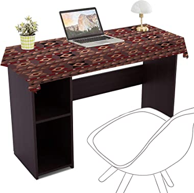 Aart Store Wooden Computer Desk | Computer Table with Storage Space for Students and Home
