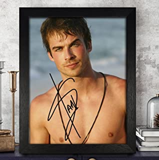 Ian Somerhalder Signed Autographed Photo 8X10 Reprint Rp Pp - The Vampire Diaries