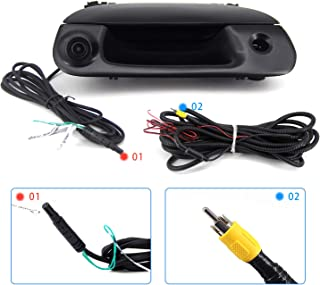 FEXON Rear View Camera Backup Camera Replacement for Ford F150 1997-2004, F250/F350/F450/F550 1999-2007 Tailgate Handle Ca... photo