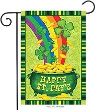 Dtzzou Happy St.Pat's Garden Flag 12