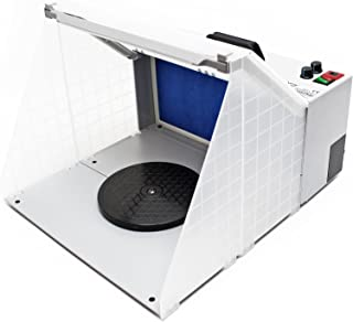 Airbrush Farbnebel Absauganlage 4m³/min Beleuchtung Absaugung Filterung regelbar