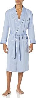 Nautica mens Long-sleeve Lightweight Cotton Woven-robe