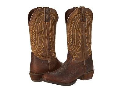 Durango Rebel Frontier 13 R Toe (Flaxen Brown) Men