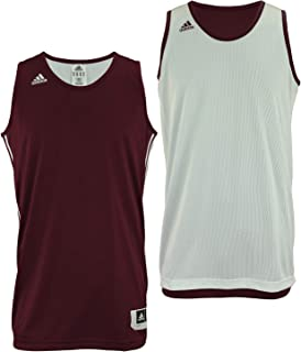 adidas Mens Reversible Basketball Practice Jersey