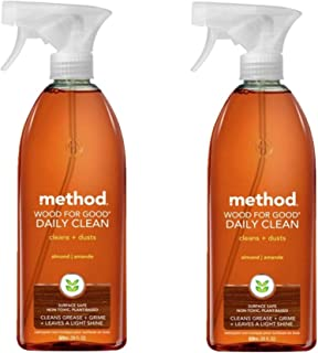 Method Daily Cleaner Spray, Wood For Good - 28 oz - 2 pk