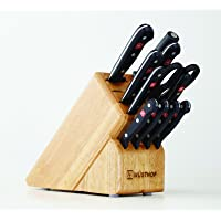 Wusthof Gourmet 12-Piece Kitchen Knife Block Set