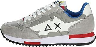 SUN 68 Z31118 Scarpe Uomo Sneakers Sportive Grigie